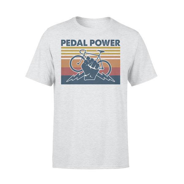 Bicycle Pedal Power Vintage Retro T-shirt XL By AllezyShirt
