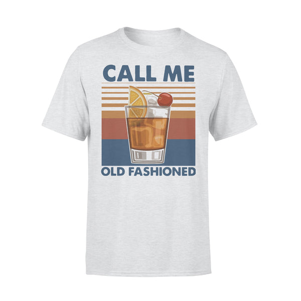 Vintage Cocktail Call Me Old Fashioned T-shirt XL By AllezyShirt