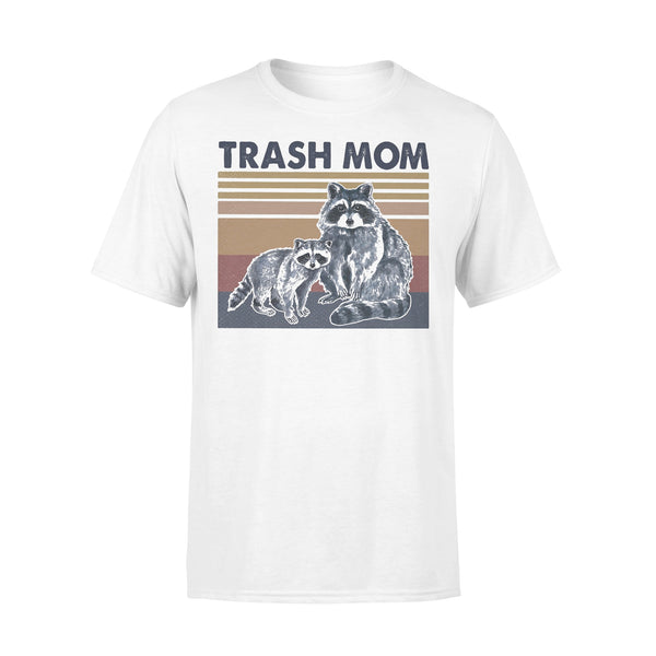 Raccoon Trash Mom Vintage Retro T-shirt L By AllezyShirt