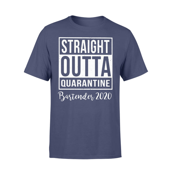 Straight Outta Quarantine Bartender 2020 Shirt XL By AllezyShirt