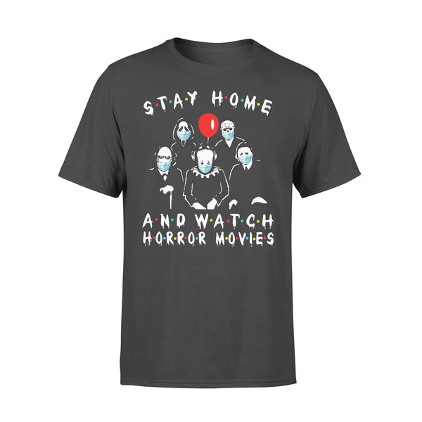Stay Home And Watch Horror Movies Shirt L By AllezyShirt