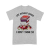 Life Without Books I Don€™T Think So Flowers T-shirt M By AllezyShirt