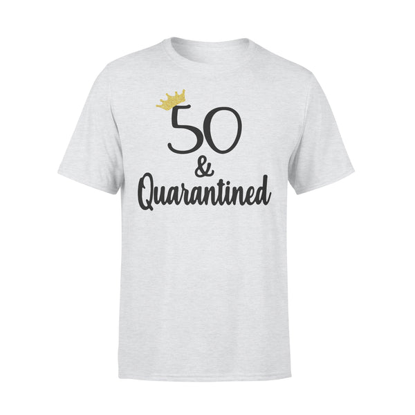 Birthday Queen 50 And Quarantined Shirt XL By AllezyShirt