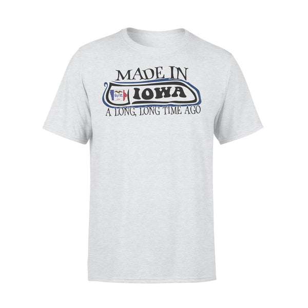 Made In Iowa A Long Long Time Ago Shirt XL By AllezyShirt