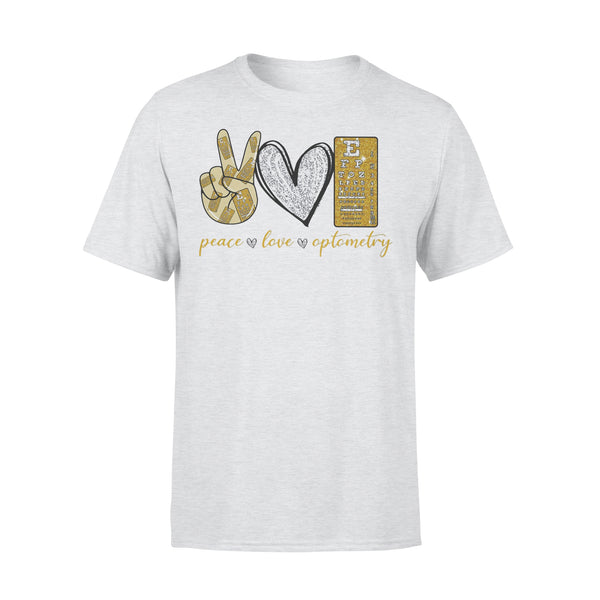 Peace Love Optometry Diamond Shirt XL By AllezyShirt
