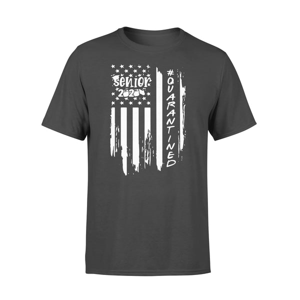 Senior 2020 Quarantine American Flag Shirt L By AllezyShirt
