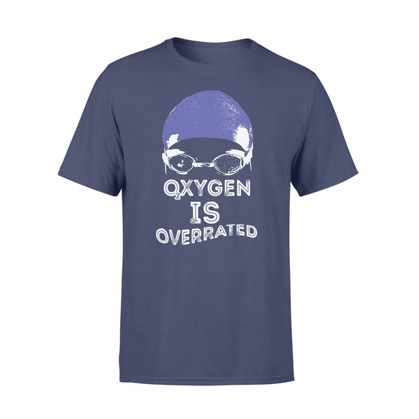 Oxygen Is Overrated Swimming Swim Team Shirt XL By AllezyShirt