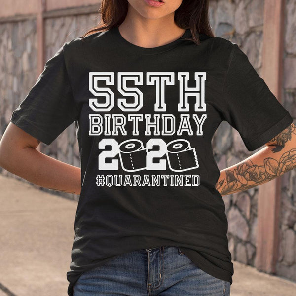 55Th Birthday 2020 Toilet Paper #quarantineds T-Shirt M By AllezyShirt