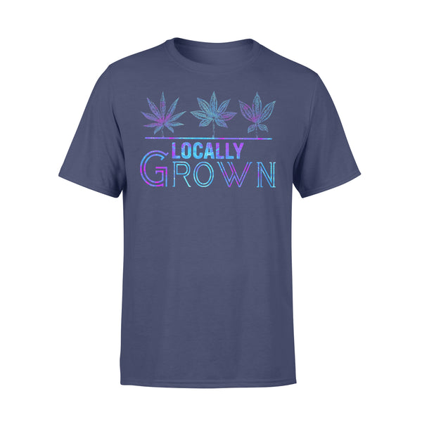 Locally Grown Weed Colorful T-shirt XL By AllezyShirt