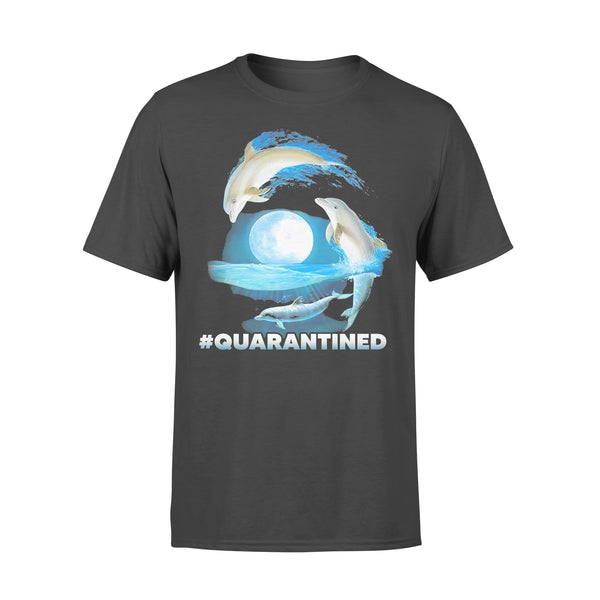 Nautical Full Moon Bottlenose Dolphins Quarantined T-shirt L By AllezyShirt