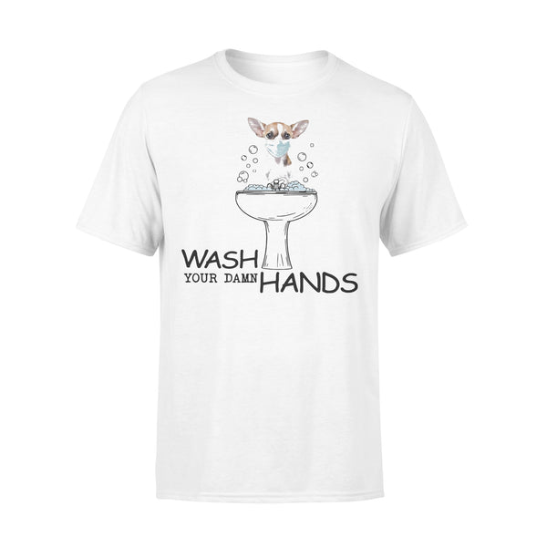 Chihuahua Wash Your Damn Hands Shirt L By AllezyShirt