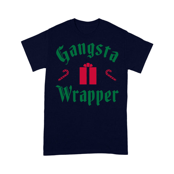 Gangsta Wrapper Christmas T-shirt M By AllezyShirt