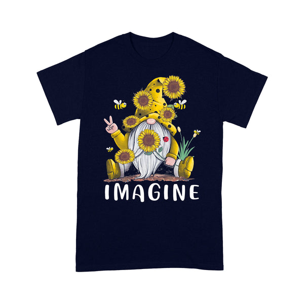 Gnome Sunflower Imagine T-shirt XL By AllezyShirt