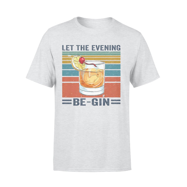 Let The Evening Be Gin Vintage T-shirt XL By AllezyShirt