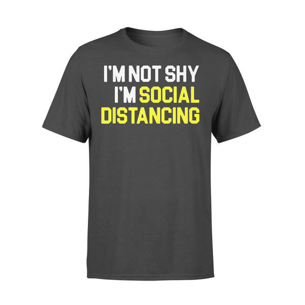 I'm Not Shy I'm Practicing Social Distancing Shirt L By AllezyShirt