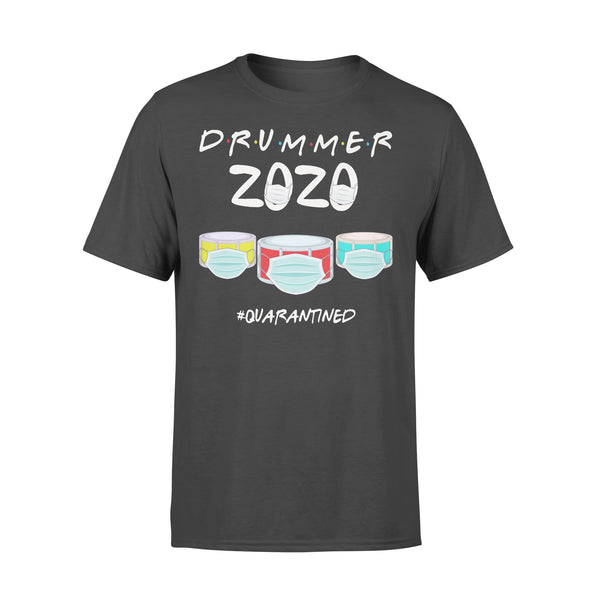 Drummer 2020 Quarantined Covid-19 T-shirt L By AllezyShirt