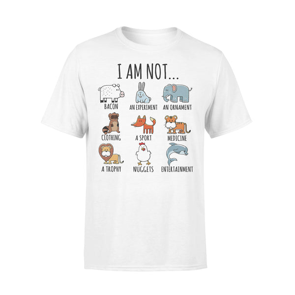 I Am Not Bacon An Experiment An Ornament T-shirt L By AllezyShirt