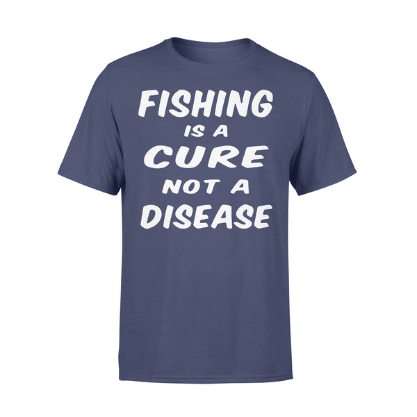 Fishing Is A Cure Not A Disease Shirt XL By AllezyShirt