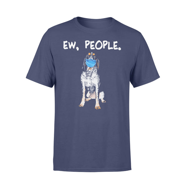 Face Mask Bluetick Coonhound Ew People Dog T-shirt XL By AllezyShirt
