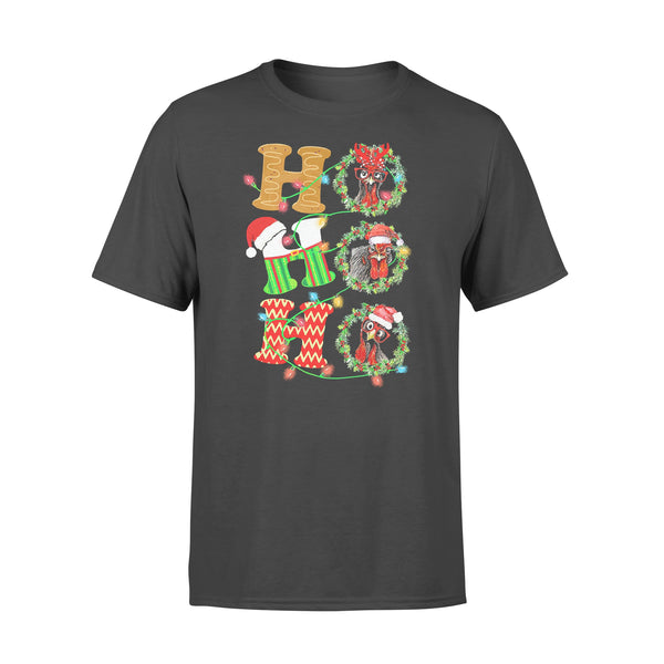 Chicken Hohoho Christmas T-shirt L By AllezyShirt