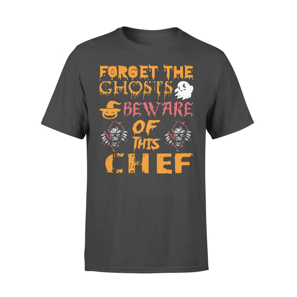 Forget Ghosts Beware This Chef Halloween T-shirt L By AllezyShirt