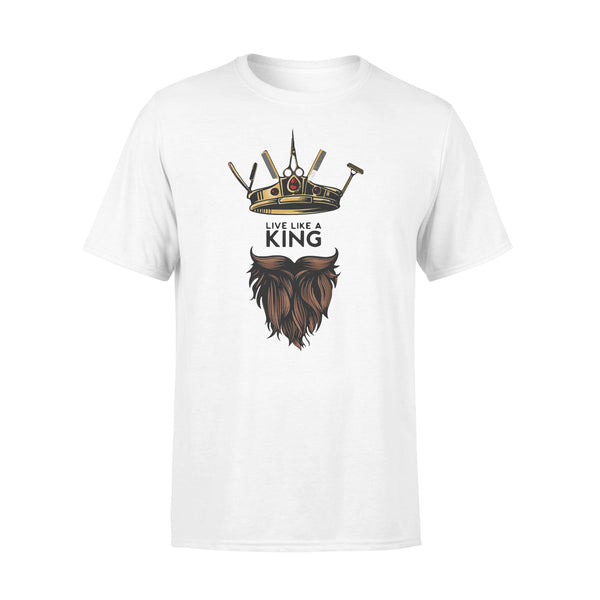 Barber Live Like A King T-shirt S By AllezyShirt