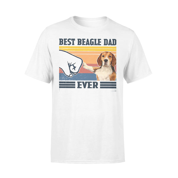 Father's Day Best Beagle Dad Ever Vintage T-shirt L By AllezyShirt