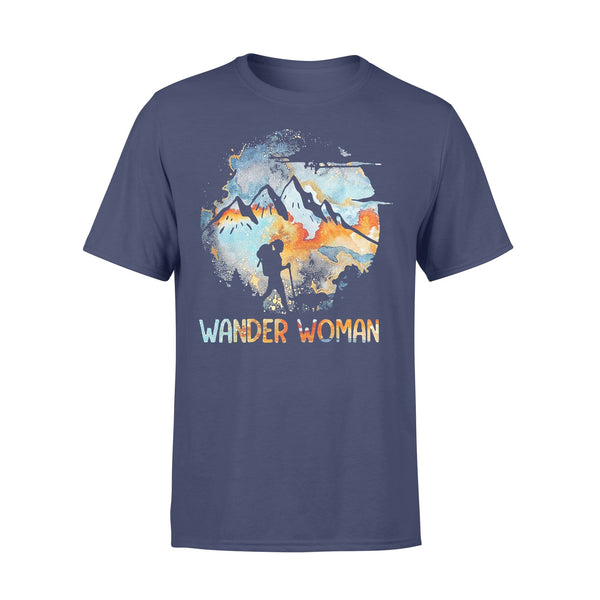Wander Woman Mountain Camping Girl 2020 Shirt XL By AllezyShirt