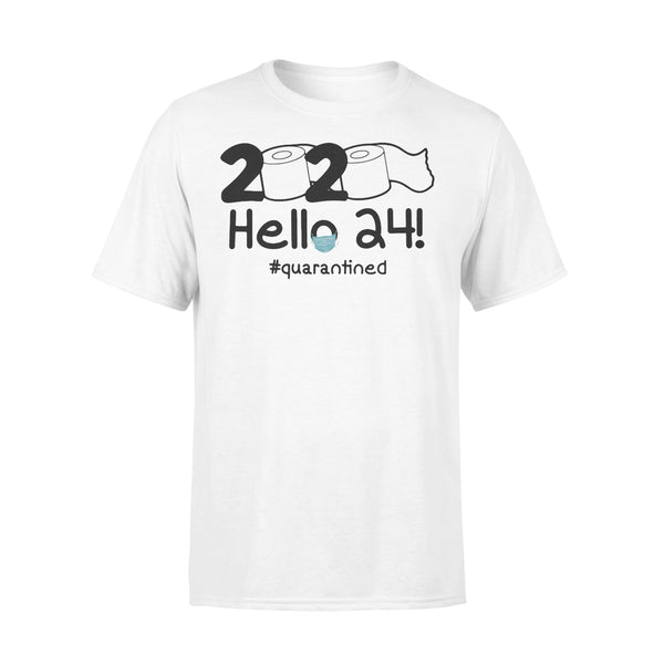 2020 Toilet Paper Hello 24 Quarantined Shirt L By AllezyShirt
