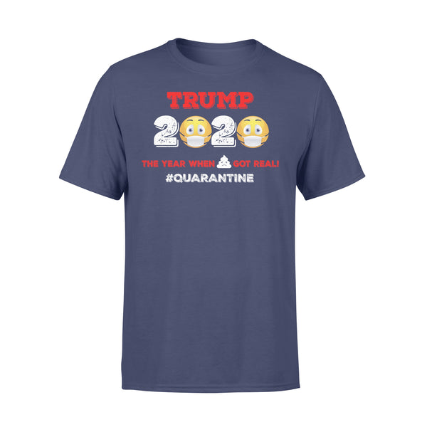 Donald Trump Toilet Paper Quarantine T-shirt XL By AllezyShirt