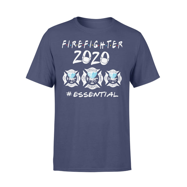 Firefighter Logo 2020 Mask Essential Shirt XL By AllezyShirt