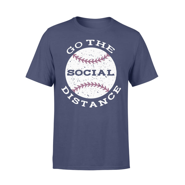 Baseball Go The Social Distance Shirt XL By AllezyShirt