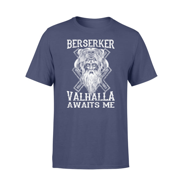 Vikings Berserker Valhalla Awaits Me T-shirt XL By AllezyShirt