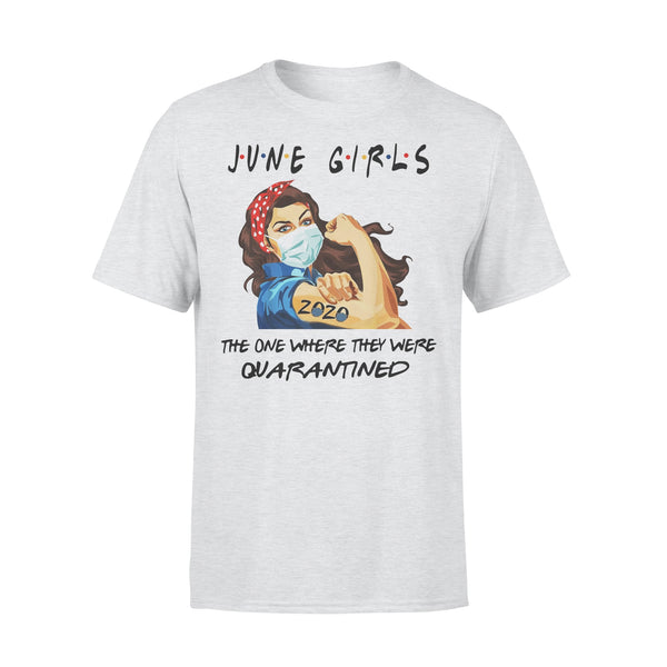 Strong Girl June Girls The One Where They Were Quarantined T-Shirt XL By AllezyShirt