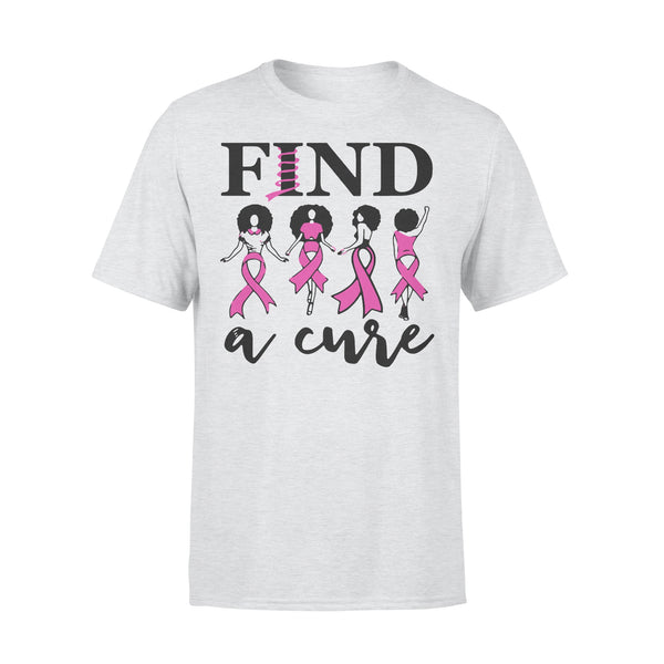 Breast Cancer Awareness Find A Cure T-shirt XL By AllezyShirt