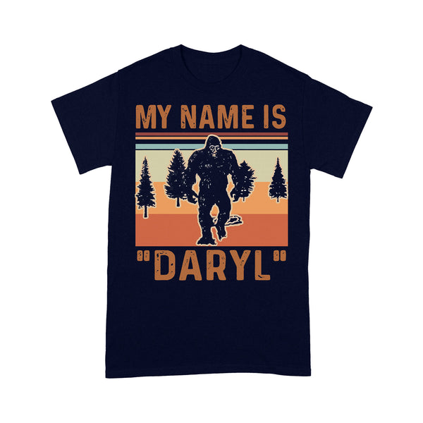 Bigfoot My Name Is Daryl Vintage Forest T-shirt M By AllezyShirt