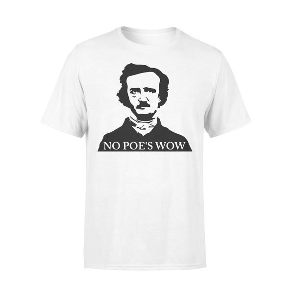 No Poe's Wow T-shirt L By AllezyShirt