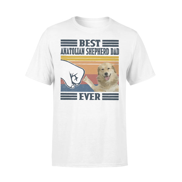 Father's Day Best Anatolian Shepherd Dog Dad Ever T-shirt L By AllezyShirt
