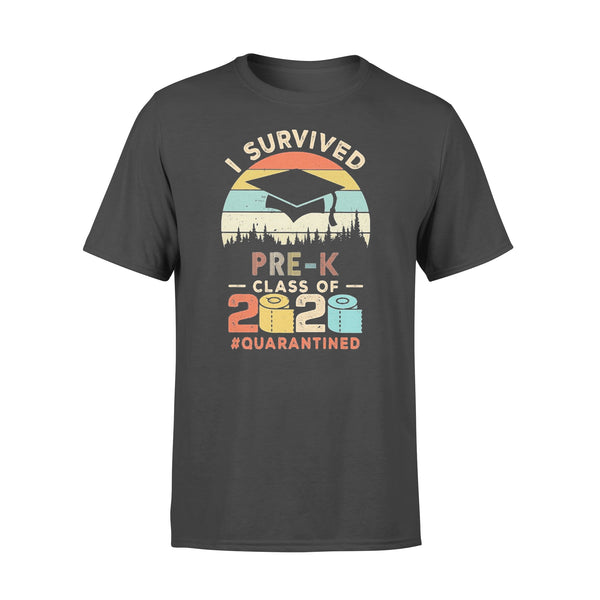 I Survived Pre-K Class Of 2020 Quarantined Toilet Paper T-shirt L By AllezyShirt