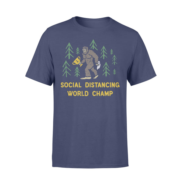 King Kong Social Distancing World Champ T-shirt XL By AllezyShirt