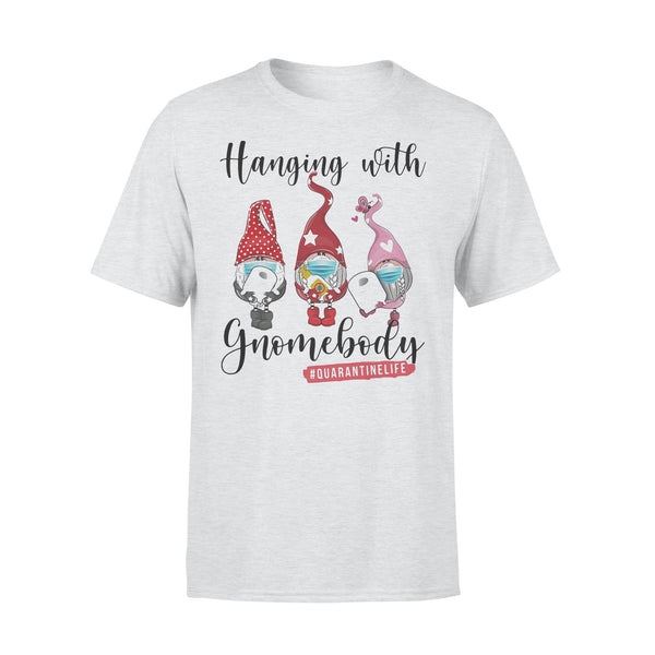 Gbomes Hanging With Gnomebody Mask Toilet Paper Quarantinelife T-shirt XL By AllezyShirt