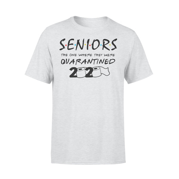 Senior The One Where They Were Quarantined 2020 Toilet Paper Shirt XL By AllezyShirt