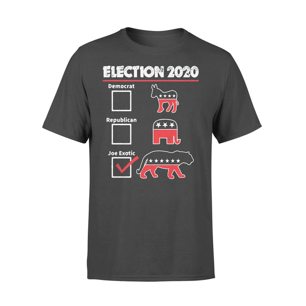 Election 2020 Democrat Republican Joe Exotic Shirt L By AllezyShirt