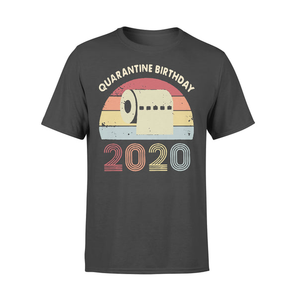 Quarantined Birthday Toilet Paper 2020 Vintage T-shirt L By AllezyShirt