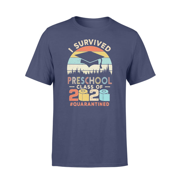 I Survived Preschool Class Of 2020 Quarantined Toilet Paper T-shirt XL By AllezyShirt