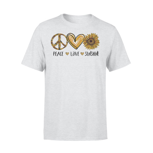 Peace Love Sunshine Sunflower Shirt XL By AllezyShirt