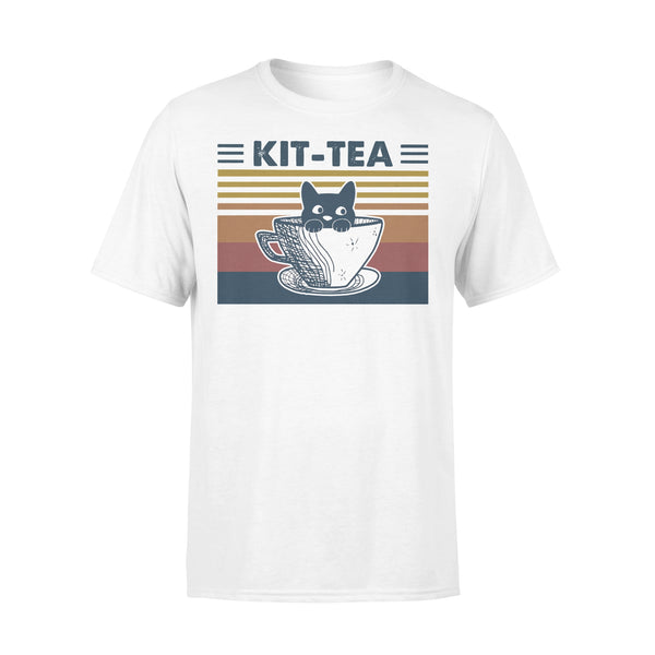 Cat Kit Tea Vintage T-shirt L By AllezyShirt