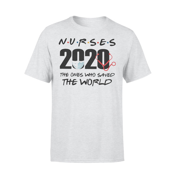 Nurses 2020 The Ones Who Saved The World Shirt XL By AllezyShirt