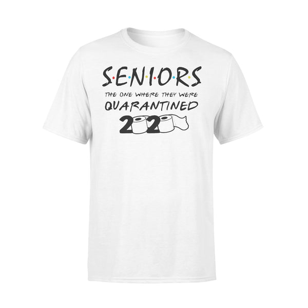 Senior The One Where They Were Quarantined 2020 Toilet Paper Shirt L By AllezyShirt