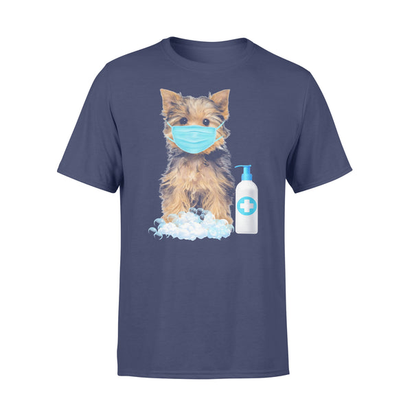 Yorkshire Terrier Lover Face Mask T-shirt XL By AllezyShirt